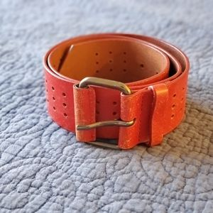 Diesel red belt